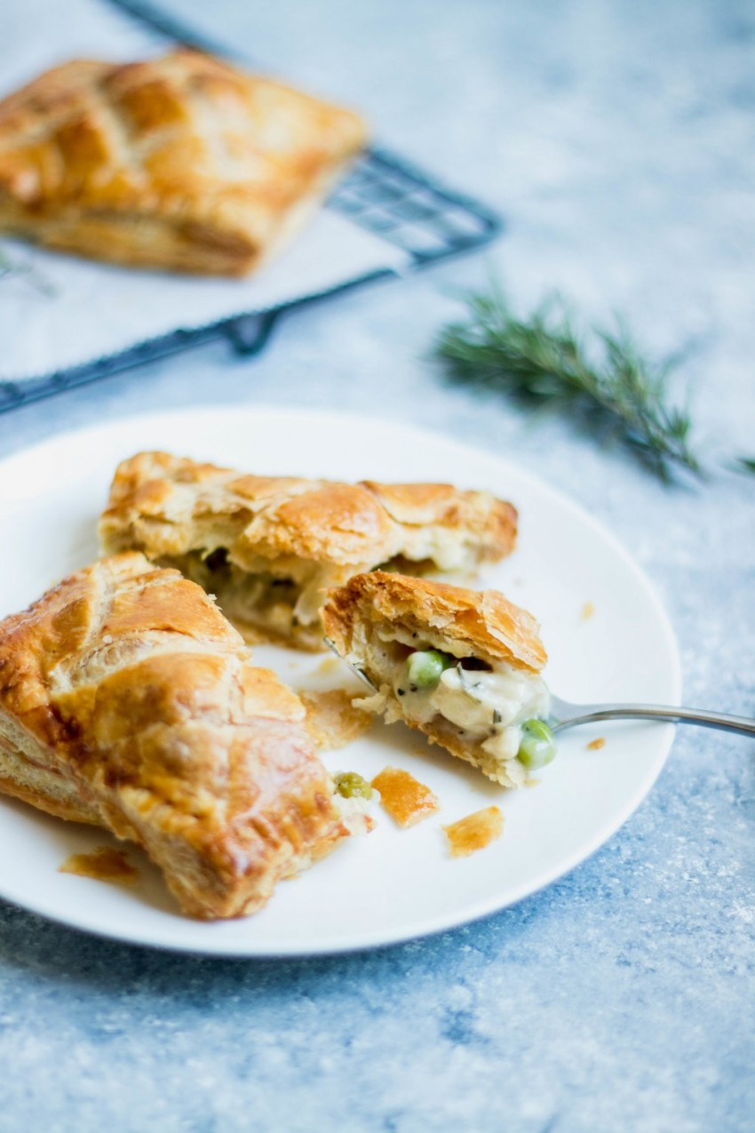 Lemon Herb Chicken Hand Pies