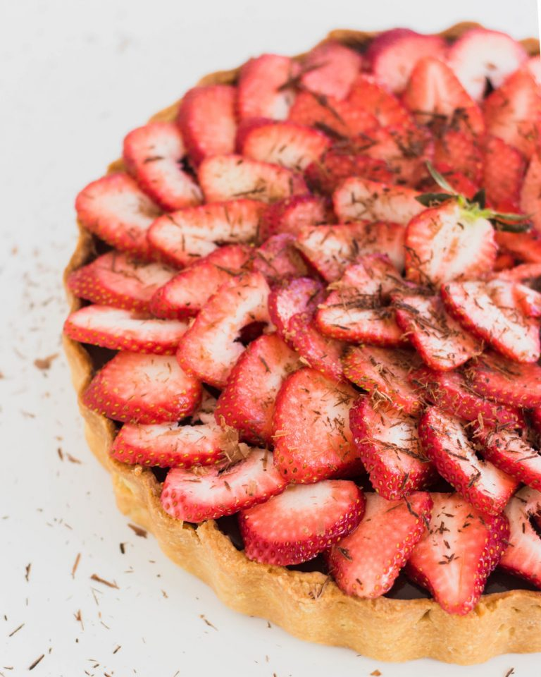 Stawberry Chocolate Tart