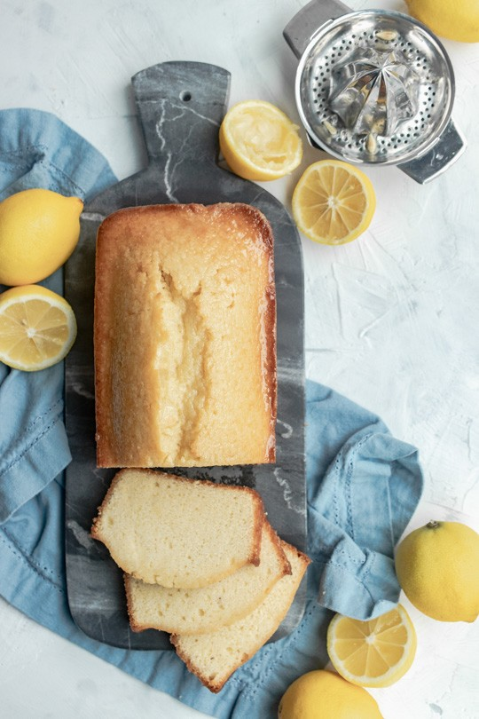 This Lemon Loaf is tender and sweet, with a light lemon tang and pleasantly dense, moist crumb. Simple, elegant, and classic!