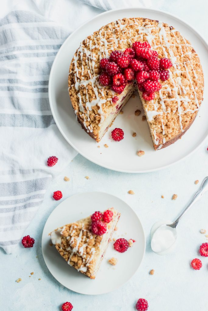 Raspberry Lemon Crumb Cake