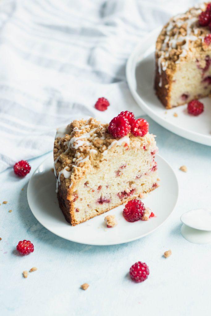 Raspberry Lemon Crumb Cake