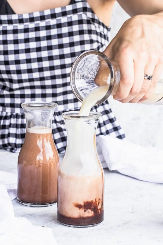 Chocolate Peanut Butter Milk
