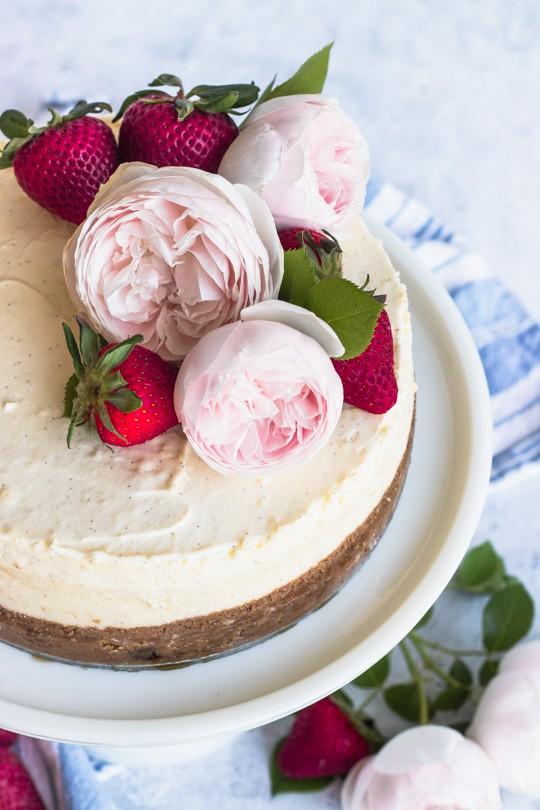 Vanilla Bean Cheesecake