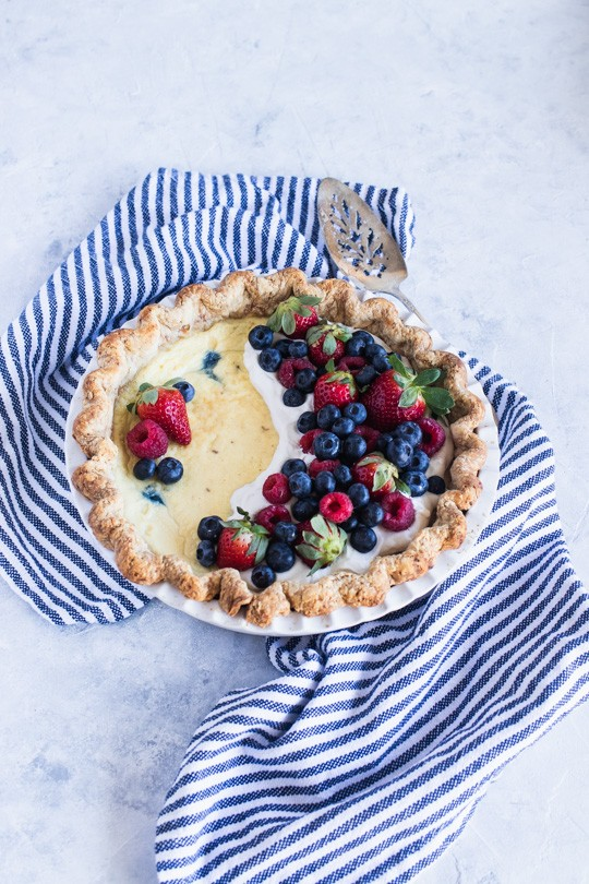 How to Make Custard Pie