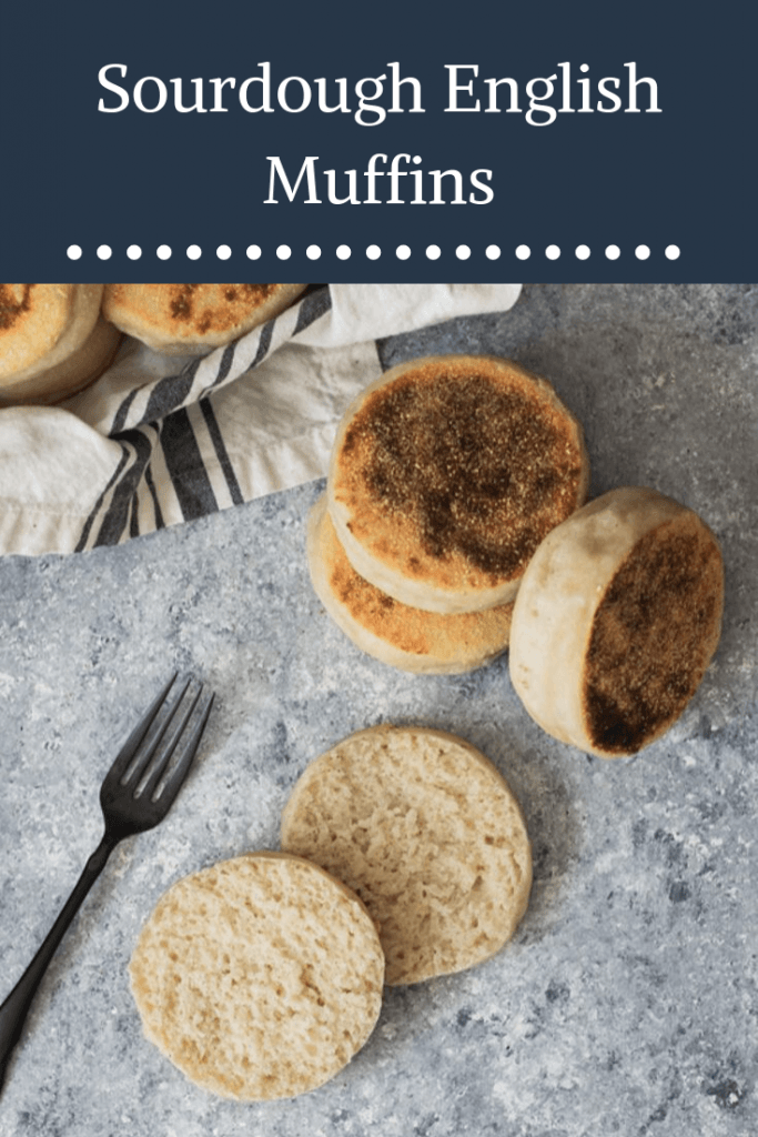 Sourdough English Muffin Recipe -- These are the best sourdough English muffins, with a tender crumb that's perfect for toasting and catching lots of melted butter. || Good Things Baking Co. #goodthingsbaking #sourdough #fermentation #englishmuffins #sourdoughbaking