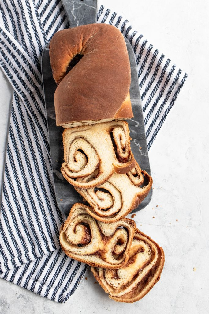 Cinnamon Bread || Good Things Baking Co. #bread #yeast #cinnamon #cinnamonbread #cinnamonrolls #christmasbreakfast #holidaybaking