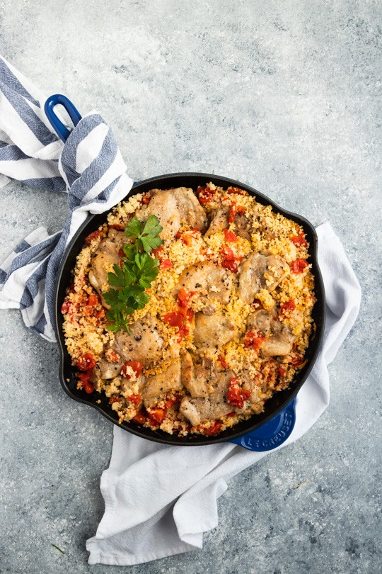 Italian Chicken Skillet Dinner
