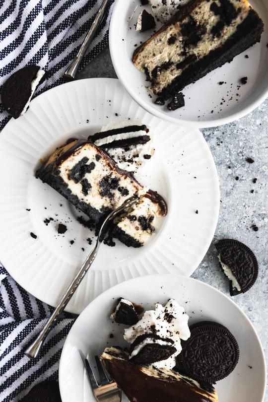 Oreo Instant Pot Cheesecake