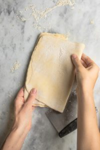 Easy Puff Pastry, ready to roll out and use
