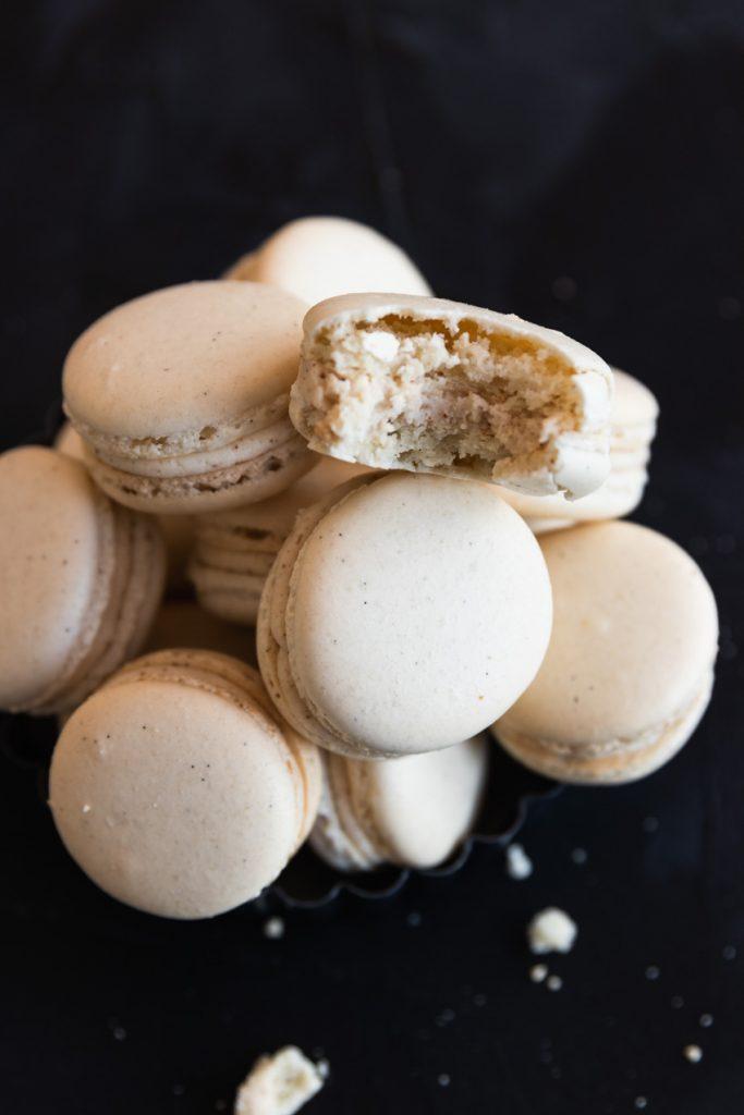 Brown Butter Vanilla Bean Macarons