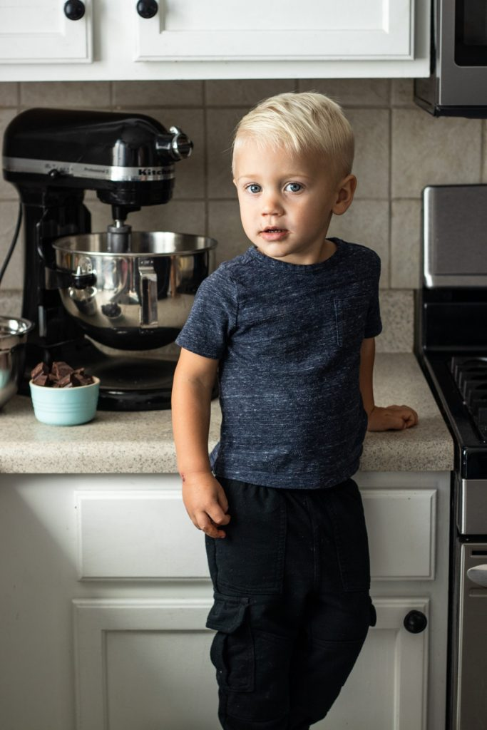 A post of tips for baking with kids